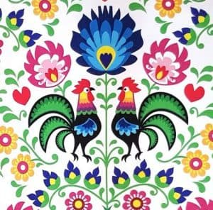 the Polish Rooster print