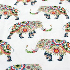 Happy Elephants print detail