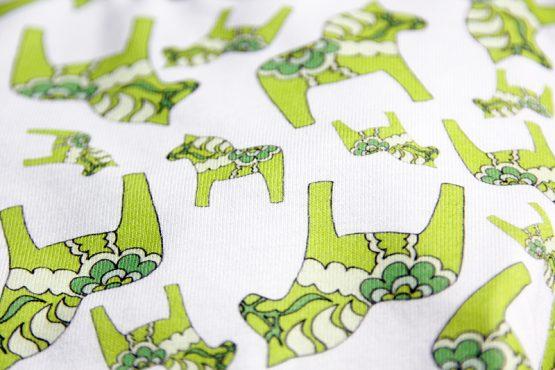 The Dala Horse onesie print