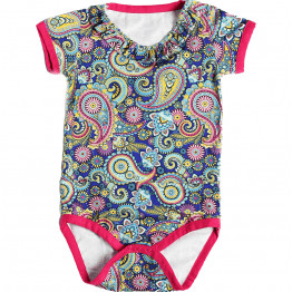 paisley girl bodysuit
