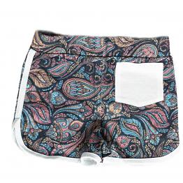 paisley shorts back