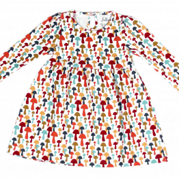 joyful mushrooms dress front