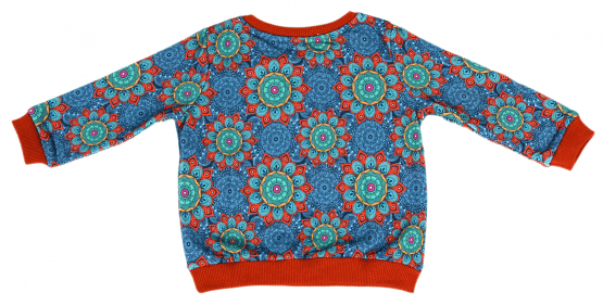 mandala sweatshirt pants back