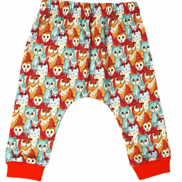 owl's meeting harem pants back