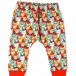 owl's meeting harem pants front