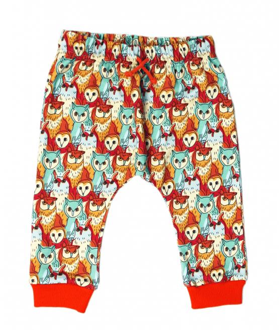 owl's meeting harem pants front