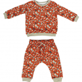 mushrooms set of sweatshirt and harem pants