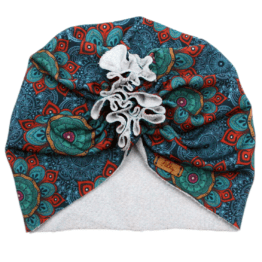 mandala blue turban