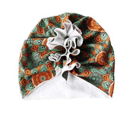 mandala green turban