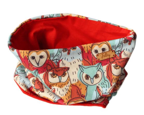 tube scarf owls