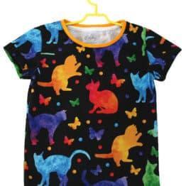 cats baby t-shirt