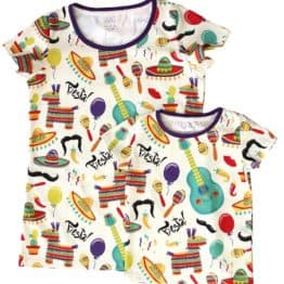 fiesta mama and baby t-shirt