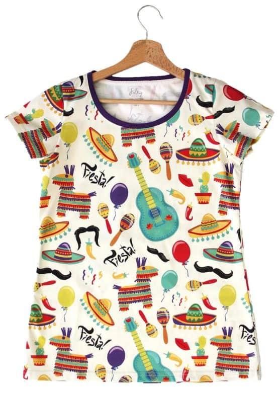fiesta mama t-shirt