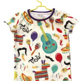 fiesta baby mexican t-shirt