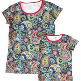 paisley mom baby t-shirt