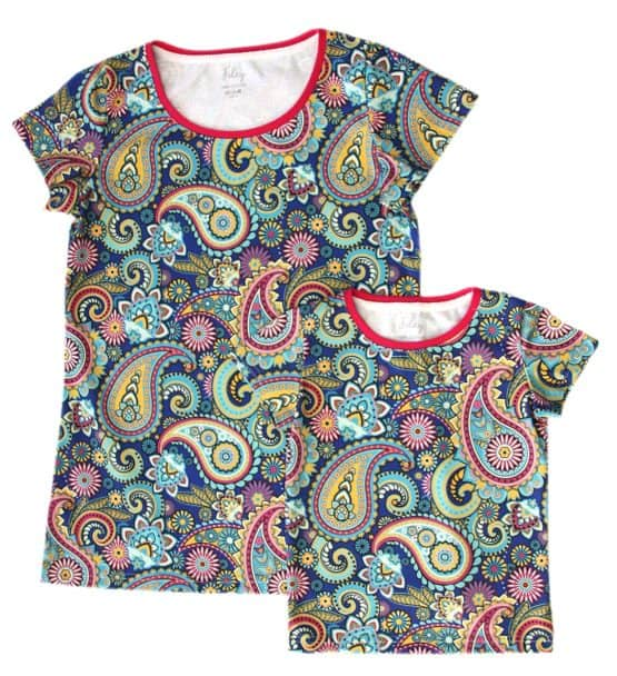 paisley mom baby t-shirt