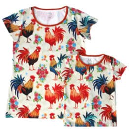 polish rooster mother and baby t-shirts