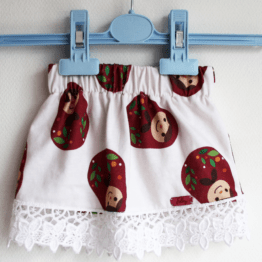 matryoshka baby girls skirt russian folklore
