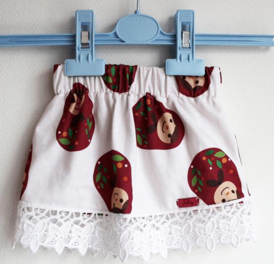 matryoshka baby girls skirt russian folklore
