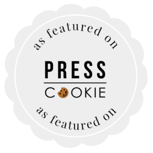 press cookie badge