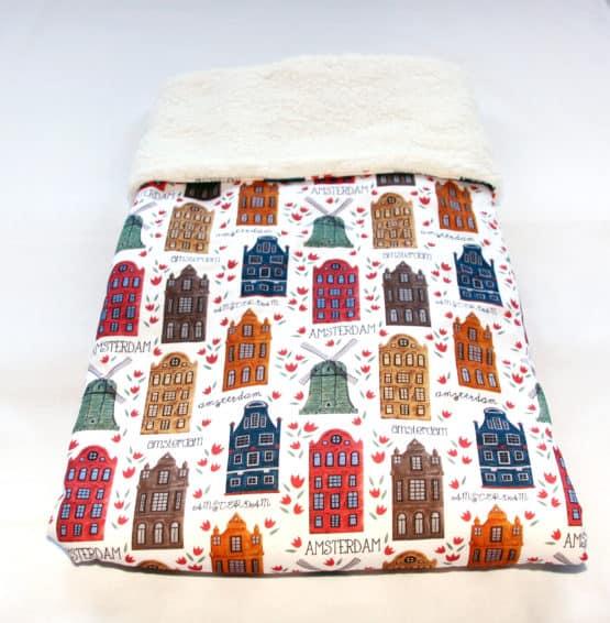 amsterdam dutch soft teddy baby blanket