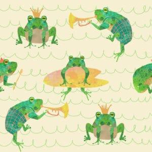 Frogs beige 2