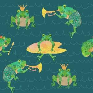 Frogs marine 2