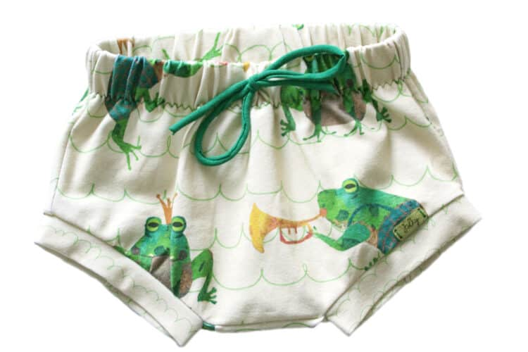 Cute Frogs Bloomers Bummies