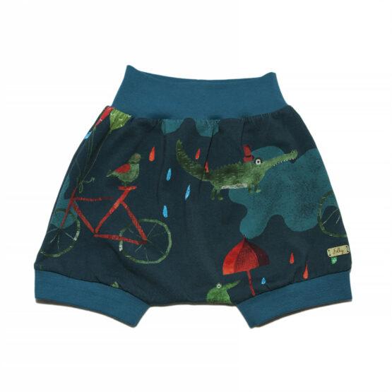 crocodile kids summer harem shorts